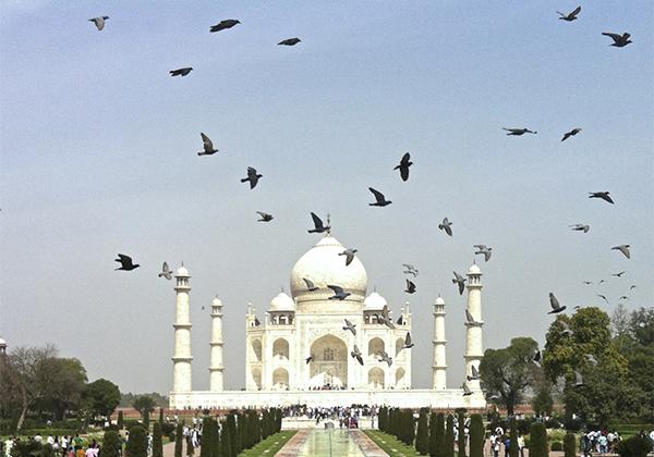 un monde de voyages Inde Taj Mahal