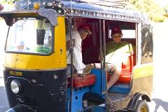 un monde de voyages Inde Touk-touk