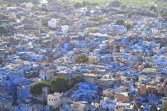 un monde de voyages IndeJodhpur - La cité bleue