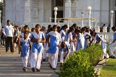 un monde de voyages Inde écoliers